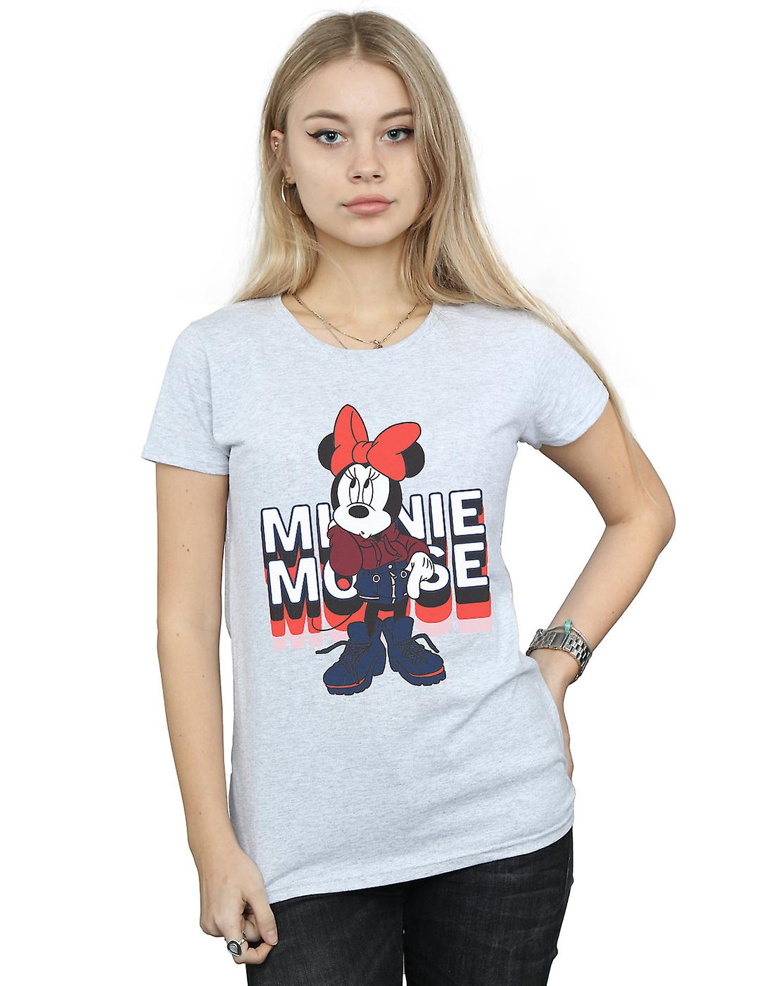 Disney Women's Minnie Mouse In Hoodie T-Shirt