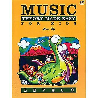 Musikteori gjort enkelt för barn, nivå 2 (Made Easy
