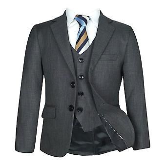 Sirri Boys Formal Charcoal Grey Suit Sets