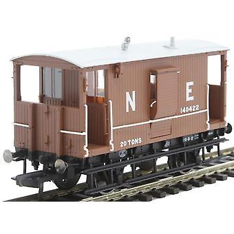 Hornby R6833 LNER Diagram 034 Toad B 20t rem Van
