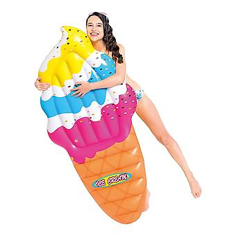 Jilong Inflatable Ice Cream Cone Mat Pool Float Lounger Beach Toy