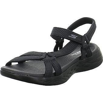 Skechers perfectioneert 15316BBK universele zomer vrouwen schoenen