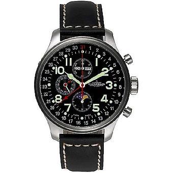Zeno-watch mens watch OS pilot chronograph 8557VKL-a1