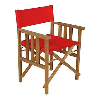 Gardenista® Red Replacement Directors Chair Canvas Cover