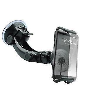 Universaali auto teline älypuhelimille ja tableteille 7-8 tuumaa-musta