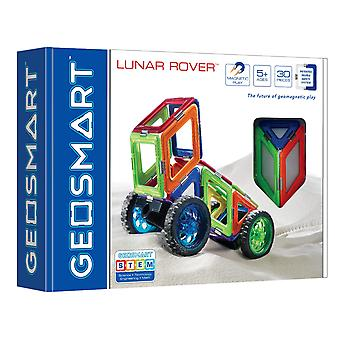 GeoSmart Lunar Rover Geowheels Magnetic Play 30 PCs
