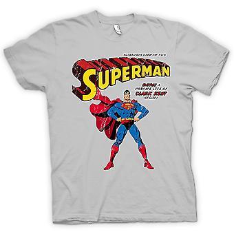 Womens T-shirt - Superman - Comic Super Hero