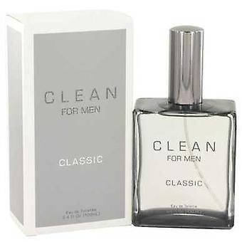 Clean Men By Clean Eau De Toilette Spray 3.4 Oz (men) V728-518124