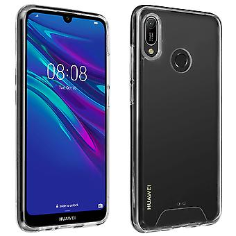 Cristal Series geval, hybride back cover voor Huawei Y6 2019/Honor 8A Ultra Clear