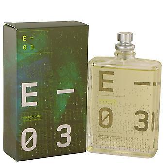 Escentric 03 eau de toilette spray (unisex) by escentric molecules 536532 104 ml
