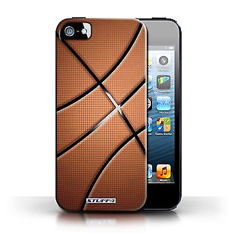 STUFF4 Case/Cover for Apple iPhone 5/5S/Basketball/Sports Balls