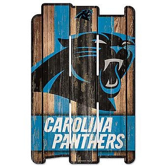Wincraft PLANK Wood Sign Wood Registrer-NFL Carolina Panthers