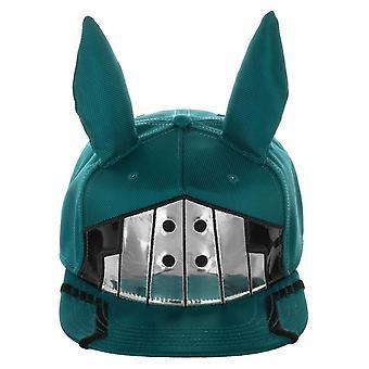 Mi héroe Academia Deku inspirado traje hasta Snapback sombrero