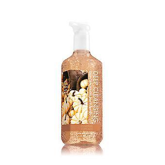 Bath & Body Works Pumpkin Cupcake Głębokie mydło do rąk oczyszczające 8 uncji / 236ml ( 2 Lot )