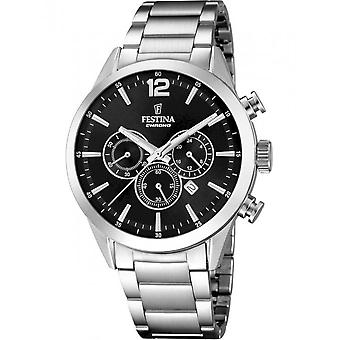 Festina Men's Watch F20343/8 Chronographs