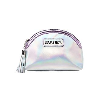 Gameboy Make Up Bag Classic Logo nuovo Ufficiale Ladies Nintendo Silver