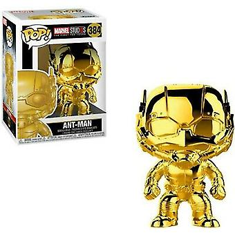 Marvel Studios 10th Anniversary ANT-Man kulta kromi Pop!
