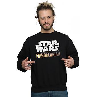 Star Wars férfiak ' s a mandalorian logo pulóver