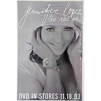 Jennifer Lopez-de reel me (enkelzijdig DVD release) originele muziek poster