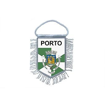 Fanion Mini Drapeau Pays Voiture Decoration Souvenir Blason Porto Portugal