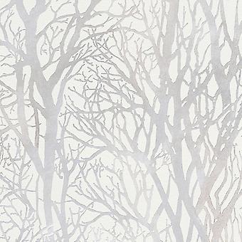 Trädgrenar tapet som skapelse