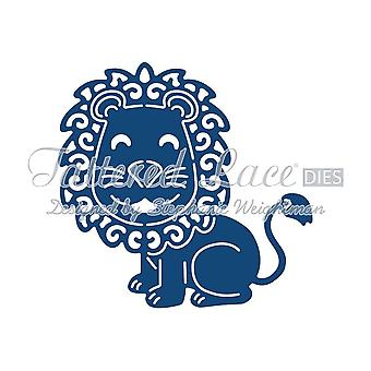 Tattered lace metaal snijden sterven Lion leo D839
