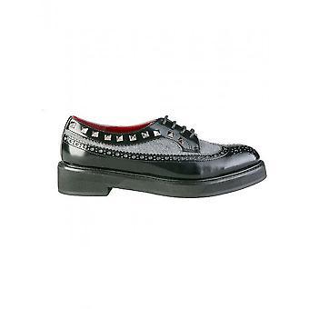 Ana Lublin - Ayakkabı - Bağcıklı Ayakkabılar - KRISTINA_NERO - Kadın - Schwartz - 41