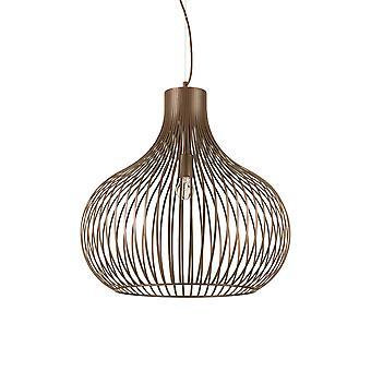 Ideale Lux Onion 1 licht hanger licht bruin IDL205311