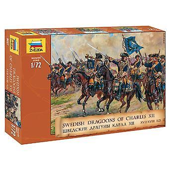 Zvezda 8057 Swedish Dragoons of Charles XII.�