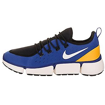 Nike Uomo POCKET FLY DM Tessuto Basso Top Lace Up Running Sneaker