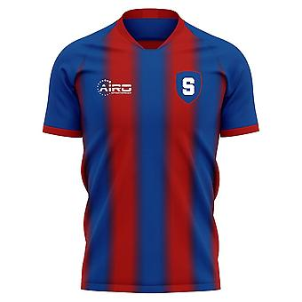 2020-2021 Steaua Bukurešť Home Concept Futbalové tričko
