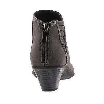 Easy Street Women's Paris Ankle Boot, Grey/Snake, 7.5 M US