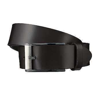 BERND GÖTZ belts men's belts leather belt Brown/MoCCA 3724