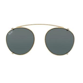 Ray-Ban Clip-on RB2180C 2500/71 guld/grøn solbriller