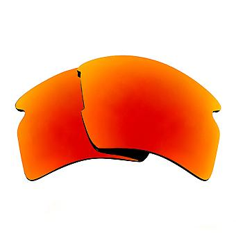 SeekOptics Replacement Lenses for Oakley FLAK 2.0 XL Polarized Red Mirror UV400