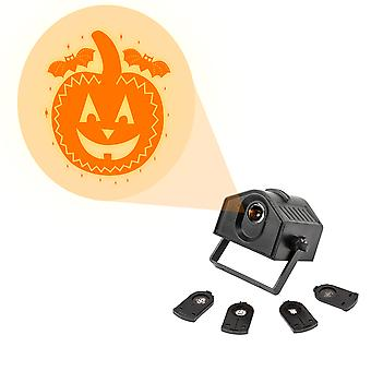 TRIXES 1 x Orange clair Happy Halloween projecteur - 4 x conceptions inclus