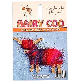 Hairy Coo Magnet Rowan