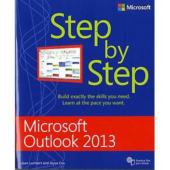 Microsoft Outlook 2013 Step by Step by Joan Lambert - 9780735669093 B