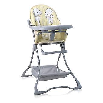 Lorelli crianças alta cadeira doces copo recesso, dobrável, mesa dupla, cesta