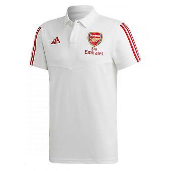 2019-2020 Arsenal Adidas Polo Shirt (White)