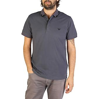 Emporio armani men's polo, grey 2842