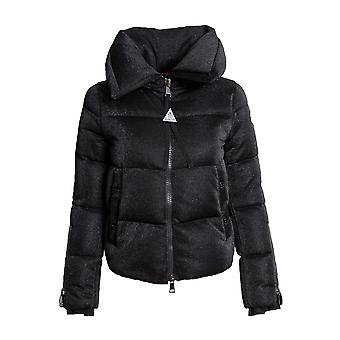 Moncler Bandama Zip-Sleeve Puffer Jacket Size 00 in Black