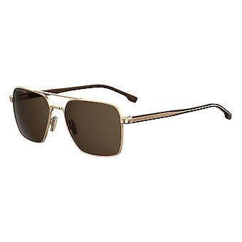 Hugo Boss 1045/S 000/70 Rose Gold/Brown Sunglasses