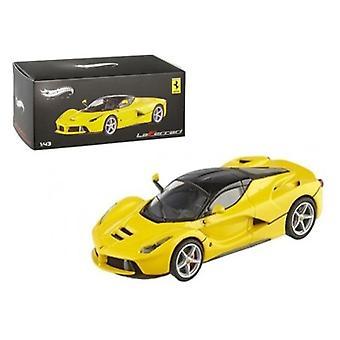 Ferrari Laferrari F70 Hybrid Elite Yellow 1/43 Diecast Car Model par Hotwheels