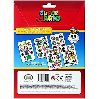 Super Mario Tech autocollants