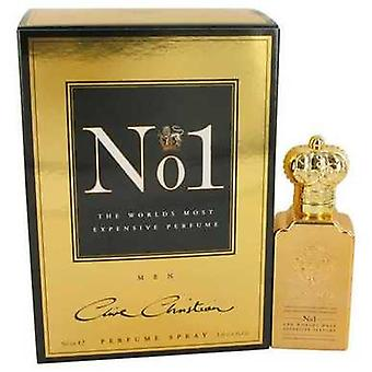 Clive Christian No. 1 door Clive Christian pure parfum spray 1,6 oz (mannen) V728-536294