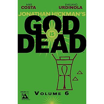 God is Dead v.6 by Mike Costa & By artist Emiliano Urdinola