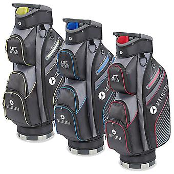 Motocaddy 2020 Lite Series 14 Way Lightweight 7 Pocket Rain Hood Golf Cart Bag