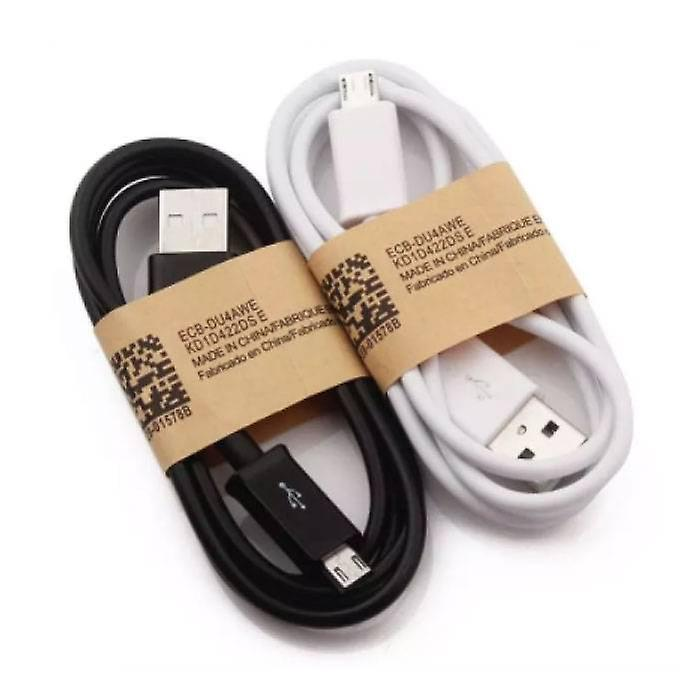 Stuff Certified® 5-Pack USB 2.0 - Micro-USB Charging Cable Charger Data Cable 1 Meter Data Android Black