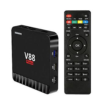 Stuff Certified® Scishion V88 Piano 4K TV Box Media Player Android Kodi - 4GB RAM - 16GB Storage